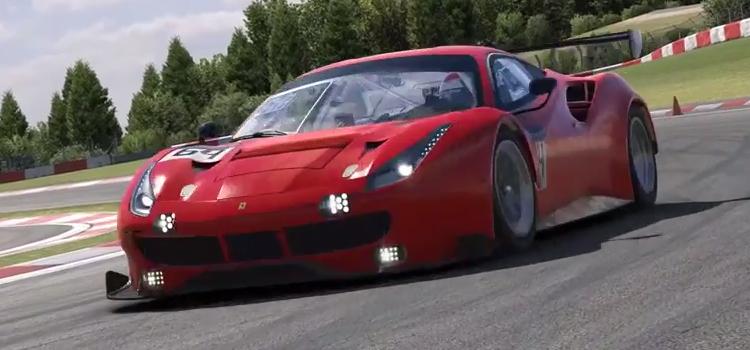 IRacing – Ferrari 488 GT3 Disponível em Setembro