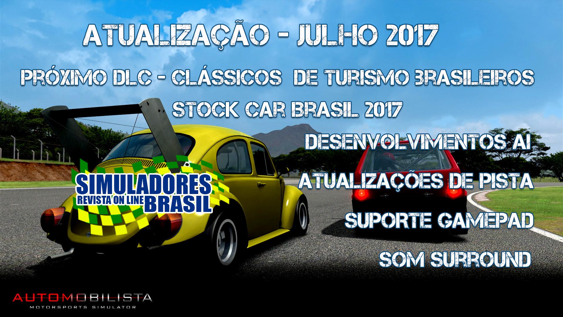 Atualização do Automobilista – Julho de 2017