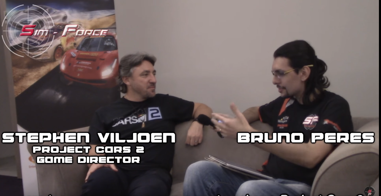 Project Cars 2 – Bruno Peres entrevista Stephen Viljoen