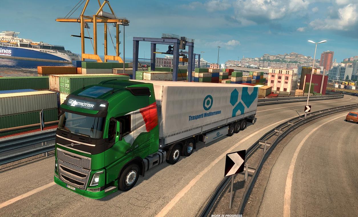 Mapa Itália – Euro Truck Simulator 2
