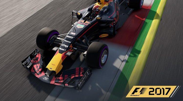 F1 2017 – Lista de controles suportados