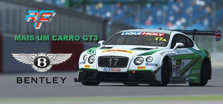 Rfactor 2 – Bentley a caminho