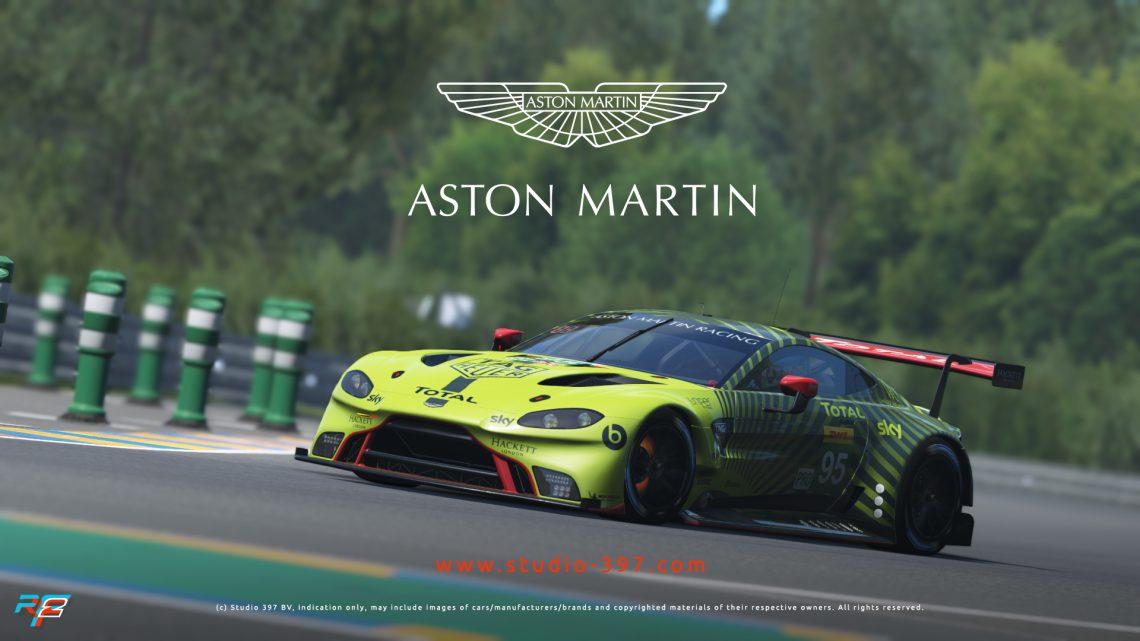 rFactor 2: Aston Martin GTE