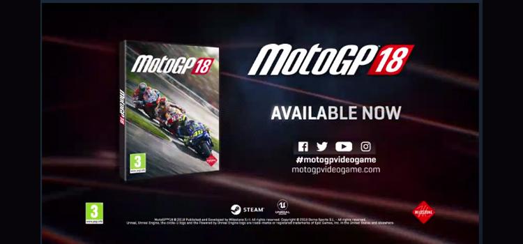 MotoGP 2018 – LANÇADO