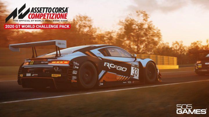 Assetto Corsa Competizione – Atualização V 1.6 E 2020 GT World Challenge Pack DLC Lançado.